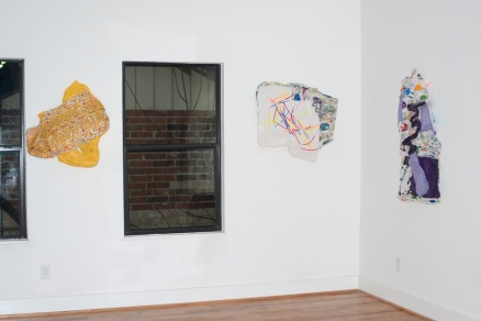Artworks by Heath Flagtvedt. Shown at Private Eye Gallery.